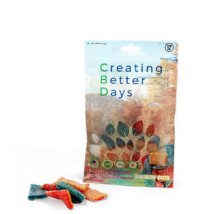 Creating Better Days Rainbow Belts Cbd Gummies 300 Mg