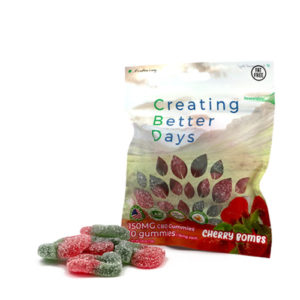 Creating Better Days Cbd Gummies Cherry Bomb 150 Mg