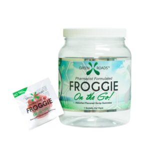 Renew Mind Body Green Roads 5mg Cbd Froggies