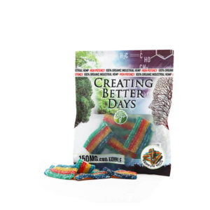150 MG CBD Rainbow Belts