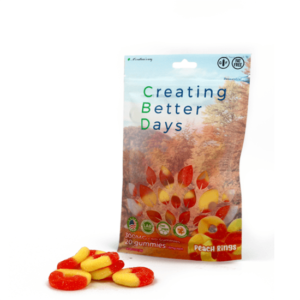 Creating Better Days Peach Rings 300 Mg