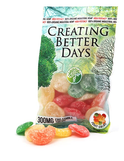 300mg Edib Creating Better Days Fruit Salad