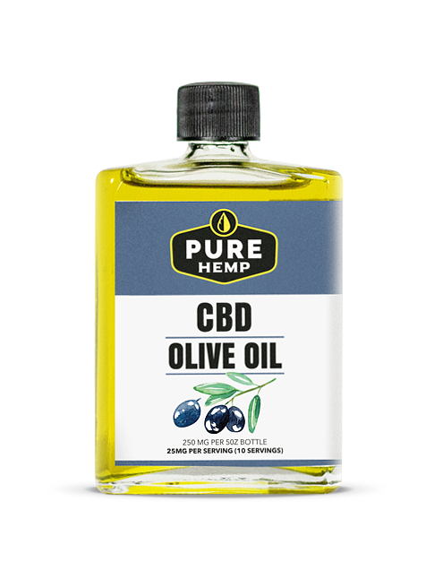 Pure Hemp Olive Oil