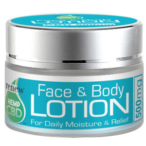 Renew Hemp Cbd Relief Lotion For Face And Body 500mg Cbd 800px