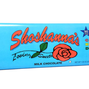Shoshana's Loving Sweets Cbd Milk Chocolate Bar