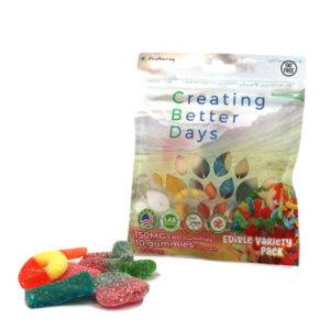 Creating Better Days Cbd Gummies Variety Pack 150 Mg