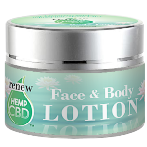Renew Hemp CBD Lotion for face and body