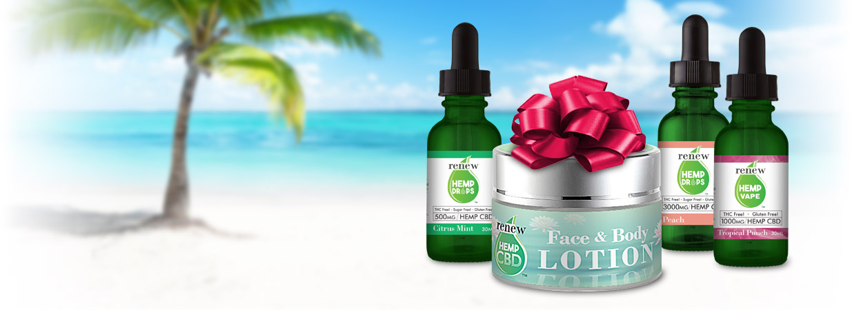 Give The Gift Of Relaxation With A Luxurious Hemp Cbd Face And Body Lotion By Renew