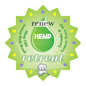 Renew Bath Bomb 30MG CBD Retreat
